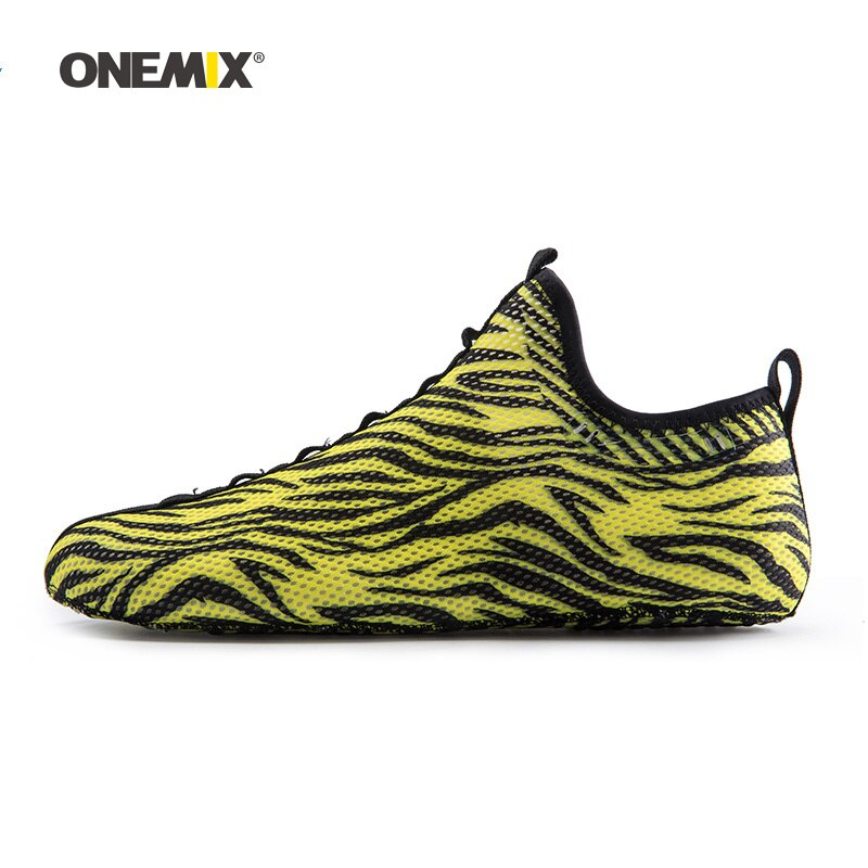 ONEMIX Men Water Sports Beach Socks Shoes For Women Nylon Wear-resisting Mesh Wading Upstream Boating Sock Indoor Yoga Walking 8
