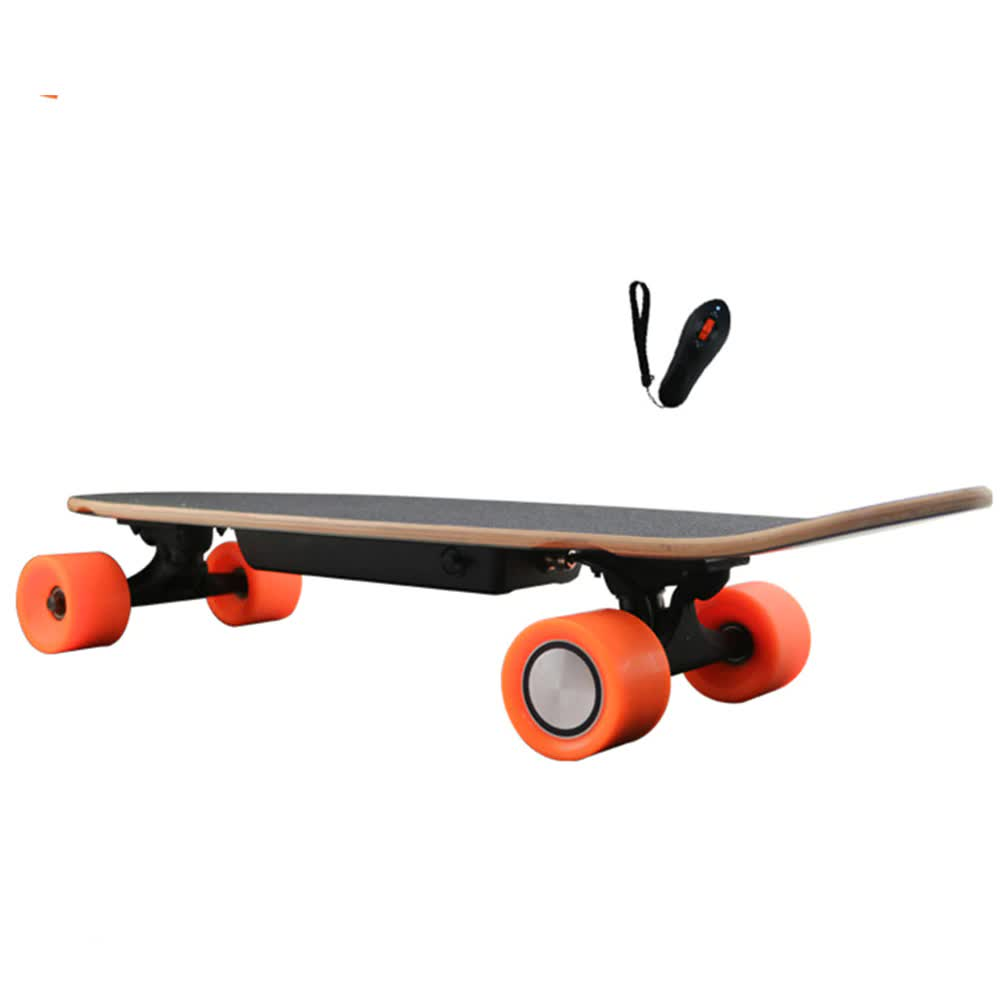 New Arrival four Wheel Electric Kick Skateboard hoverboard with Oraiginal LG battery remote key Self balancing scooter