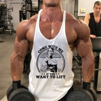 Brand Bodybuilding Stringer Sport T Shirt GYM Tank Tops Running Vest Men Fitness Sleeveless Undershirt Golds Gym Top Men Cloth