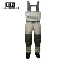 Breathable Hunting Fishing Chest Waders Waterproof and Lightweight  Fly Fishing Wader with stocking foot for Men and Women