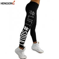 Women Gym Pant High Waist Fitness Sportswear Compression Slim Running Tranning Exercise Legging Women Female Sports Pants