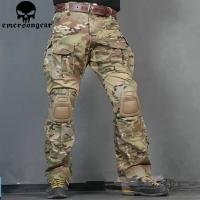 Emerson Tactical bdu G3 Combat Pants Emerson BDU Military Army Pants with Pads Multicam