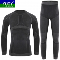 YOOY Children Sports Sets Boys Ski Thermal Underwear Sets kids Boys Girls Thermo Underwears Suits Warm Quick Dry Long Johns