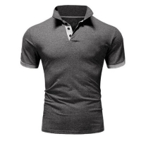 Men Sports Tops Shirts Summer Fashion Men Short Sleeve Slim Business Casual Polos Shirts MaleTops Tees Hombre Brand Clothing 5XL