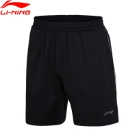 Li-Ning Men Badminton Shorts Competition Bottom AT DRY Fitness Comfort Breathable LiNing Sports Shorts AAPM145 CONF17