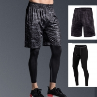 men's running shorts gym pants Breathable Running fitness Half Joggers Trousers Active Training Shorts Basketball sports Trunks