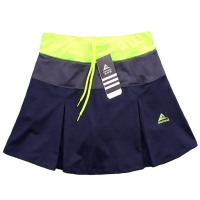 Women Sports Badminton Skirt Tennis Skorts Spring Summer Quick-drying Patchwork Female Training Skirts with Safety Shorts