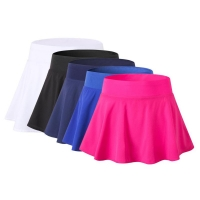2018 Sports tennis skirt Fitness Short skort Badminton Breathable Quick Drying Women Sport Anti Exposure tenis para mujer