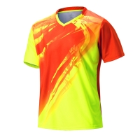 2018 sporting Sportswear Quick Dry badminton shirt ,Men badminton clothes table tennis shirt table tennis clothes POLO T Shirts