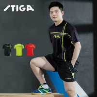 New arrival original Stiga Table tennis clothes sportswear quick dry short sleeved men ping pong Shirt Badminton Sport Jerseys