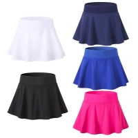 Women Tennis Yoga Skirt-shorts Fitness Badminton Shorts Underpants Short Dress Breathable Quick-Drying Lady Sports Tennis Skort