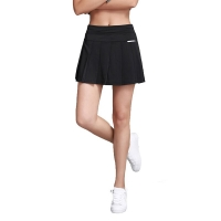 Women & Girls Pleated Tennis Skirt with shorts layer Jogging Skirts,Badminton Skirt High Waisted Stretch With pockets