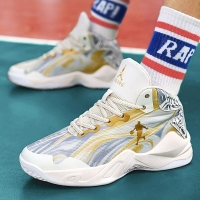 High-top Basketball Shoes Men's Cushioning Light Basketball Sneakers Men Zapatos Hombre Breathable Outdoor Sports Shoes