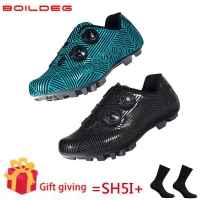 New Cycling Shoes Breathable&Waterproof Mountain Bike Racing Shoes MTB Cycling Self-Locking Shoes Athletic Bicycle Shoes