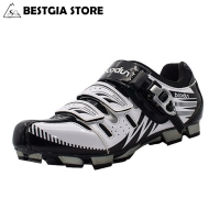 BOODUN Breathable&Waterproof Road Mountain Bike Shoes Racing Bike MTB Cycling Shoes Mens Self-Locking Athletic Bicycle Shoes