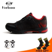 Tiebao Cycling Shoes Bicycle Professional Athletic Shoes Self-Locking Shoes Men MTB Leisure Bike Shoes zapatillas de ciclismo