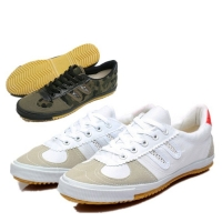 kung fu tai ji wing chun shoes oxford-sole canvas shoes breathable sports training sneakers Brace lee