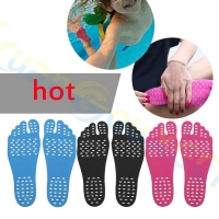 Silicone Unisex Beach Foot Patch Pads Insoles men Comfortable Waterproof Invisible Anti-skid Shoes Mats women Foot Pads Patch