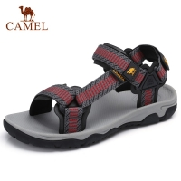 CAMEL Men Women Outdoor Sandals Casual Comfortable Anti-slip High Quality Trekking Hiking Beach Fishing Sandals