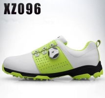 2019 Golf Shoes Men Waterproof Breathable Golf Shoes Rotating Knobs Buckle Slip Resistant Sports Sneakers Outdoor Golf