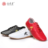 Yiwutang kung fu shoes kids wushu shoes for  children  Taiji and Chinese marial ars shoes Non-slip cow Muscle