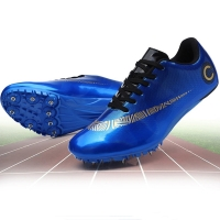 Men Tracking Spike Shoes Outdoor Student Training Athletic Shoes Track and Field Jumping Shoe Men Track Spikes Shoes Sneaker