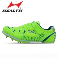 Health kids track and field for men spike long-jump shoes professional training shoes mens sports shoes running spikes 35-45