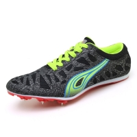 Couples Track Shoes Spring Autumn Mens Track And Field Spikes Black Green Women Running Sprints Sneaker Lightweight Sport Shoes