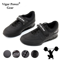 Vigor Powe Gear High Quality Weight Lifting Shoes For Suqte Power Lifting Exercise Training Leather Non Slip Weightlifting Shoe