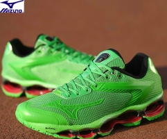 Mizuno WAVE TENJIN Men Running Shoes Limited Edition Air Cushioning Sports shoes Weightlifting shoes GREEN size 40-45