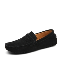 New Slip On Men baseball Shoes Cow Suede Leather Driving Shoes Men Loafers Moccasins Male Plus Size 45 46 47  RME-354