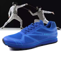 Men's Fencing Shoes Adult Professional Fencing Sneakers Fencing Competition Training School Shoes Competitive Shoes Wear-resista