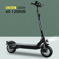 FLJ Newest Electric Scooter for Adults with seat 48V/1200W / 500W kick scooter foldable big wheel electro bike