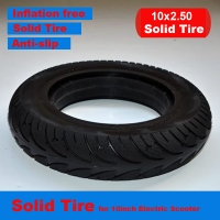 10 inch Electric Scooter Rubber Riot Tire Solid Tyre Inflation Free Tire 10*2.5/10*2.125 Tire for 10 inch Electric Scooter