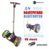 10.5 inch wheels Hoverboard Self Balancing Scooter Electric Scooter skateboard with blutooth  A8 big wheel handle hoaveboard