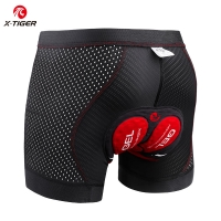 X-Tiger Cycling Underwear Upgrade 5D Padded Cycling Shorts 100% Lycra Shockproof MTB Bicycle Shorts Road Bike Shorts
