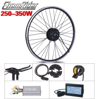 250W 350W 36V 48V ebike kit Electric bike conversion kit XF07 XF08 MXUS Motor without battery LED LCD display optional freehub