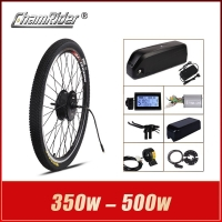 MXUS ebike Kit Electric bike conversion kit Hailong Battery 350W 500W 36V 20.4AH 48V 17AH 52V 17AH 15F 15R XF Motor LCD display