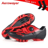 2019 new upline cycling shoes mtb winter mountain bike shoes men racing bicycle sneakers professional self-locking breathable