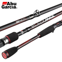 Original Abu Garcia Brand Black Max BMAX Baitcasting Lure Fishing Rod 1.98m 2.13m 2.44m M Power Carbon Spinning Fishing Stick