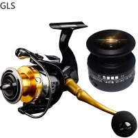 High Quality 14+1 BB Double Spool Fishing Reel High Speed Metal Spinning Reel Carp Fishing Reels with Free Spare Spool For Saltw