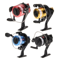3 axis Fishing Reel Aluminum Body Spinning Reel 5.2:1 Speed Ratio Left/Right Hand Fishing Wheel 40M Fishing Line wheel