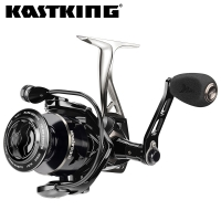 KastKing Megatron New Water Resistant Carbon Drag Spinning Reel with Large Spool 21KG Max Drag Saltwater Spinning Fishing Reel