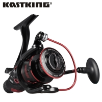 KastKing Sharky Baitfeeder III 12KG Drag Carp Fishing Reel with Extra Spool Front and Rear Drag System Freshwater Spinning Reel