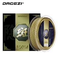 DAGEZI 100M 4Strand PE Braided Fishing Line 25 30 40 50 80LB 110yds Super Strong Multifilament Fishing Line Fishing Tackle