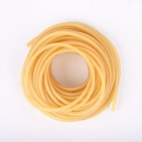 Diameter 2mm 3mm solid elastic fishing rope 1M-5M fishing accessories good quality rubber line for fishing gear