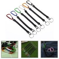 1 Pcs Fishing Lanyards Boating Kayak Rope Camping Secure Pliers Lip Grips Tackle Tools New 6 colors