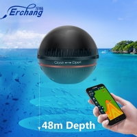 Erchang F3W Portable Fish Finder In Russian Bluetooth Wireless Echo Sounder Fishfinder for Fishing Lake Sea Fishing IOS& Android