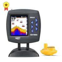 LUCKY FF918-CWS Wired Fishfinder big screen Depth Sounder Fish Detector Monitor echo sounder for fishing from a boat