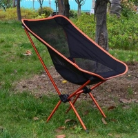 1PC Portable Folding Camping Chair Outdoor Fishing Seat Ultra-Light Foldable Chairs Seat For Fishing Festival Picnic BBQ